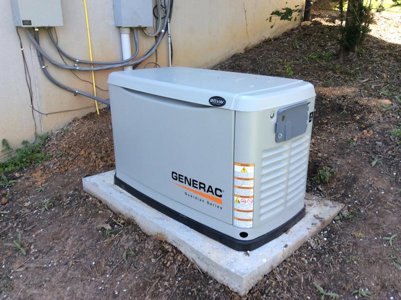 Natural Gas Generac Standby Generator